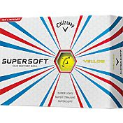 Callaway Supersoft Yellow Golf Balls - Prior Generation