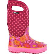 BOGS Kids' Flower Dots Classic Winter Boots