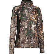 Under Armour Women's Camo Armour Fleece Quarter Zip Jacket