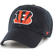 '47 Men's Cincinnati Bengals Black Clean Up Adjustable Hat