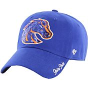 '47 Women's Boise State Broncos Blue Sparkle Clean-Up Adjustable Hat