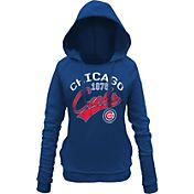 5th & Ocean Women's Chicago Cubs Pullover Royal Hoodie