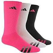 adidas Men's Cushioned Color Crew Socks 3 Pack