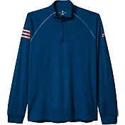 adidas Men's Club Half-Zip Midlayer Tennis Top