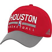 adidas Men's Houston Rockets Practice Performance Adjustable Hat