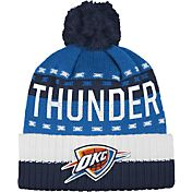 adidas Men's Oklahoma City Thunder Cuffed Pom Knit Hat