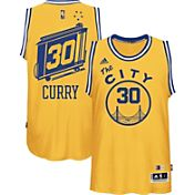 adidas Men's Golden State Warriors Steph Curry #30 Alternate Gold Swingman Jersey