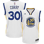 adidas Men's Golden State Warriors Steph Curry Replica White Basketball Jersey