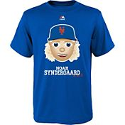 Majestic Youth New York Mets Noah Syndergaard Emoji Royal T-Shirt