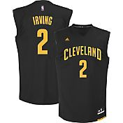 adidas Youth Cleveland Cavaliers Kyrie Irving #2 Black Replica Jersey