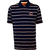 Antiqua Men's Chicago Bears Deluxe Navy Polo