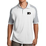 Antigua Men's Philadelphia Flyers Century White Polo