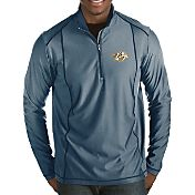 Antigua Men's Nashville Predators Tempo Half-Zip Pullover Shirt