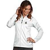 Antigua Women's Purdue Boilermakers White Performance Golf Jacket