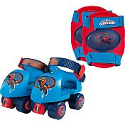Ultimate Spider-Man Boys' Roller Skates and Knee Pads