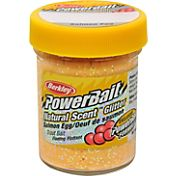 Berkley PowerBait Natural Scent Glitter Trout Dough Bait – Salmon Egg Flavor