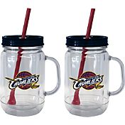 Boelter Cleveland Cavaliers 20oz Handled Straw Tumbler 2-Pack