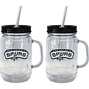 Boelter San Antonio Spurs 20oz Handled Straw Tumbler 2-Pack