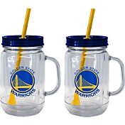 Boelter Golden State Warriors 20oz Handled Straw Tumbler 2-Pack
