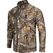 Colosseum Athletics Men's Illinois Fighting Illini Camo Decoy Quarter-Zip Wind Shirt