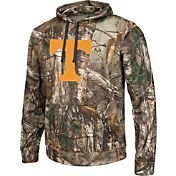Colosseum Athletics Men's Tennessee Volunteers Camo Breech Pullover Hoodie