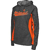 Colosseum Athletics Women's Miami Hurricanes Grey Performance Hoodie