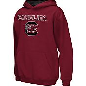 Colosseum Athletics Boys' South Carolina Gamecocks Garnet Poly Fleece Hoodie