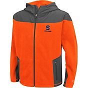 Colosseum Athletics Youth Syracuse Orange Full-Zip Orange Fleece Jacket