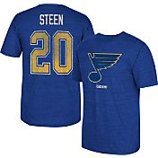 CCM Men's St. Louis Blues Alexander Steen #20 Vintage Replica Royal Player T-Shirt