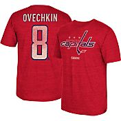 CCM Men's Washington Capitals Alex Ovechkin #8 Replica Home Player T-Shirt
