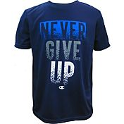 Champion Boys' Never Give Up Graphic T-Shirt
