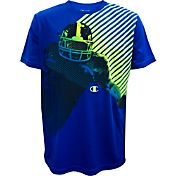 Champion Boys' Football Player Graphic T-Shirt