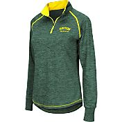 Colosseum Athletics Women's Oregon Ducks Green Bikram Quarter-Zip