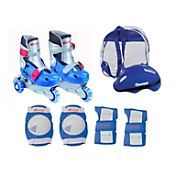 Chicago Boys' Adjustable Training Inline Skates Combo