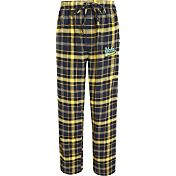Concepts Sport Men's UCLA Bruins Navy/Gold Ultimate Plaid Sleep Pants