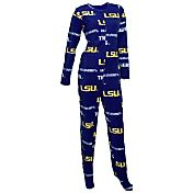 Concepts Sport Women's LSU Tigers Purple Onesie