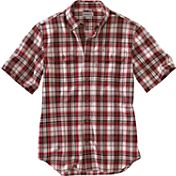 Carhartt Men's Fort Plaid Short Sleeve Shirt