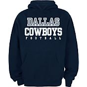 Dallas Cowboys Merchandising Youth Practice Navy Hoodie