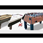 DMI Sports Electra 7' Lighted Rail Hockey Table