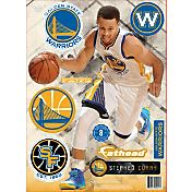 Fathead Golden State Warriors Stephen Curry Home Teammate Player Wall Decal