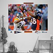 "Fathead Demaryius Thomas ""In Your Face"" Wall Graphic"
