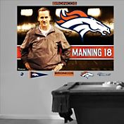 Fathead Peyton Manning Bound for Denver Mural Wall Graphic