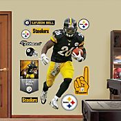 Fathead Le'Veon Bell #26 Pittsburgh Steelers Real Big Wall Graphic