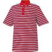 FootJoy Men's ProDry Stretch Lisle Multi-Stripe Athletic Fit Golf Polo