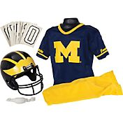 Franklin Michigan Wolverines Kids' Deluxe Uniform Set