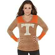 Touch by Alyssa Milano Women's Tennessee Volunteers Tennessee Orange Goal Line Long Sleeve Shirt