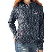 G-III for Her Women's Houston Texans Break Trail Blue Full-Zip Jacket