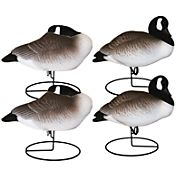 Hard Core Full Body Canada Goose Resting Decoys – 4 Pack