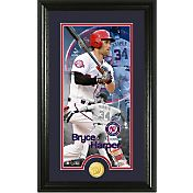Highland Mint Washington Nationals Bryce Harper Supreme Bronze Coin Photo Mint