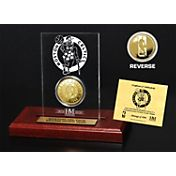 The Highland Mint Boston Celtics Gold Coin Etched Acrylic